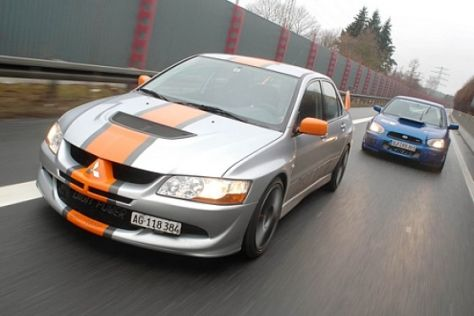 K&M Impreza gegen Digit Power Lancer