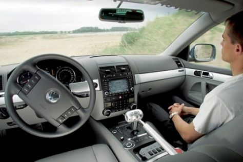 Fahrerloser VW Touareg