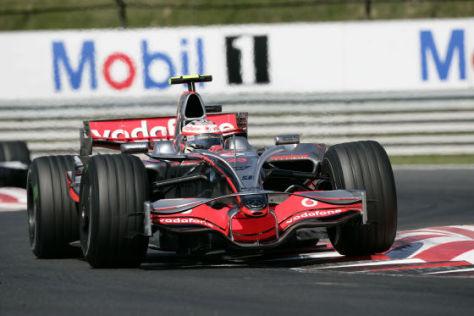 Formel 1 GP Ungarn 2008, Heiki Kovalainen, McLaren-Mercedes