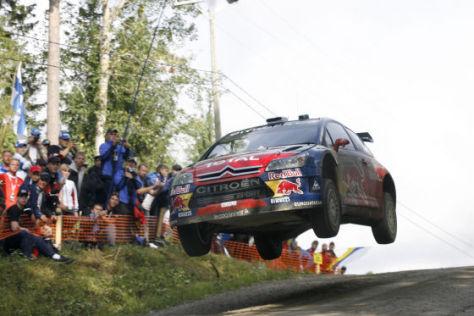 WRC Rallye WM, Finland 2008, Sébastien Loeb, Citroën C4