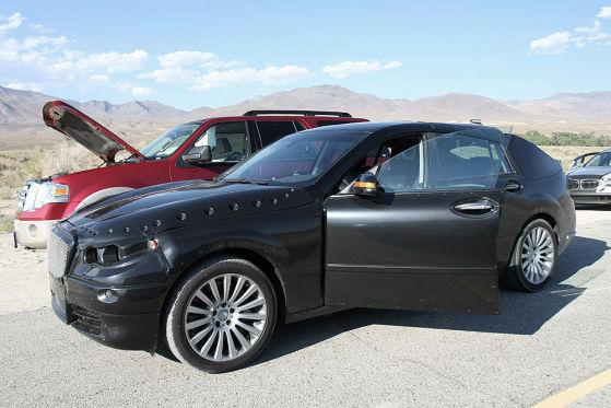 BMW PAS Erlkönig