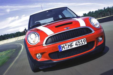"""Überraschung: Auf Rang 5 der Bestenliste """"grüner Autos"""" steht der Mini Cooper."""