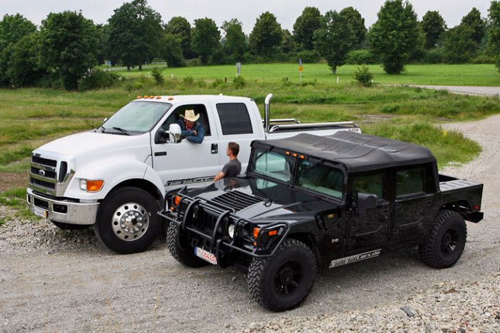 Hummer Vs Wrangler >> Ford f650 vs hummer