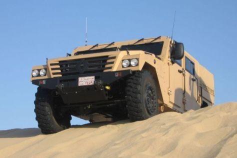 Hummer-Zwilling: Renault baut den Sherpa 2 fürs Militär.