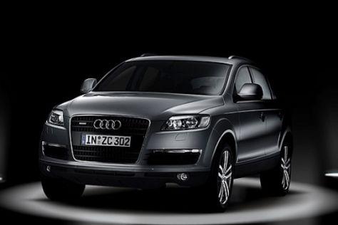 Neue Fotos vom Audi Q7