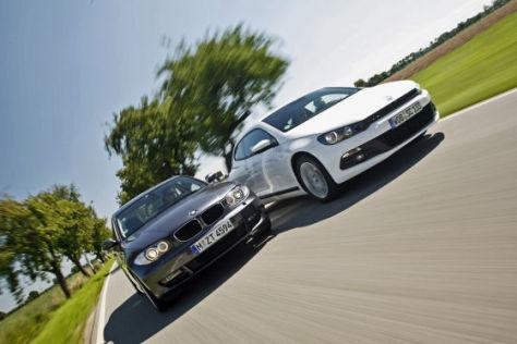 BMW 125i Coupe VW Scirocco 2.0 TSI