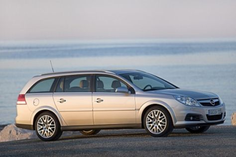 Facelift Opel Vectra und Signum