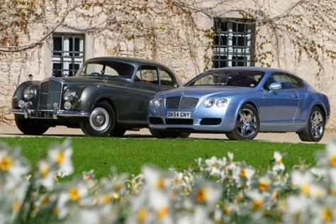 Bentley Continental von 1954 und 2005