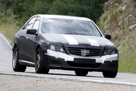 Erlkönige Mercedes E-Klasse
