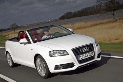 Audi A3 Cabrio jetzt auch mit kleinem 1,6-Benziner.