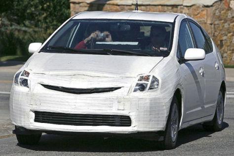 Erlkönig Toyota Prius  Facelift