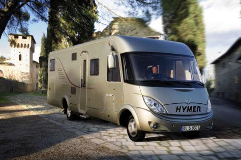 Wohnmobil Hymer
