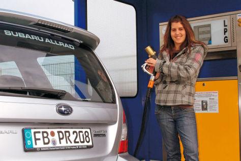 Subaru Autogas ecomatic