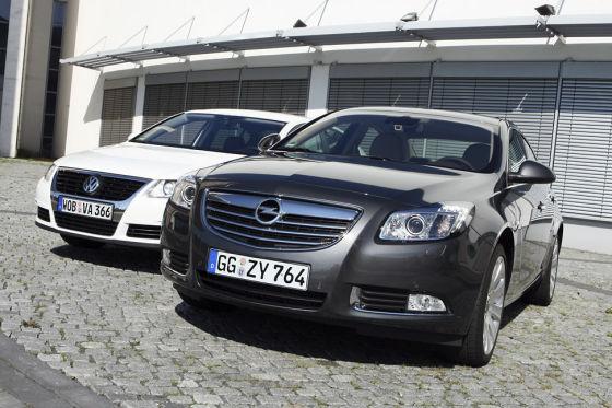 Opel Insignia, VW Passat