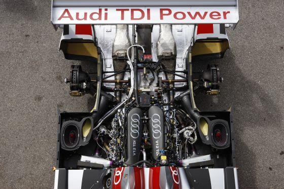 Der Audi R10, Dauersieger in der ALMS, will endlich auch einen Sieg in der europäischen Serie.