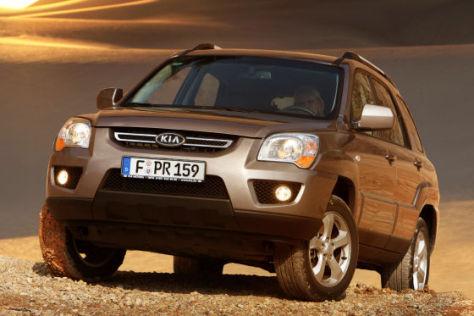 Kia Sportage Facelift (Modelljahr 2009)