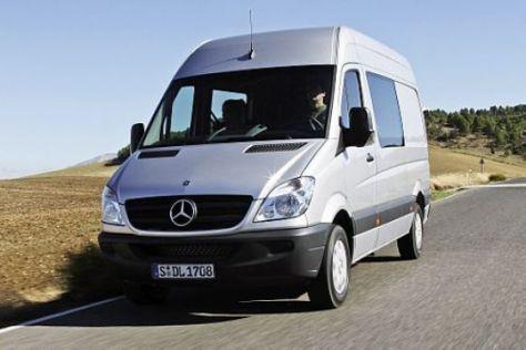 Rückruf für Mercedes Sprinter: Der Dachgepäckträger kann brechen.