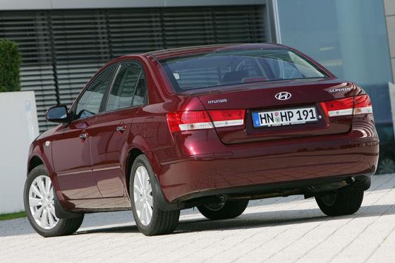 Hyundai Sonata Facelift 2008
