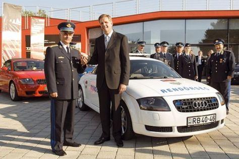Audi-Jubiläum in Ungarn