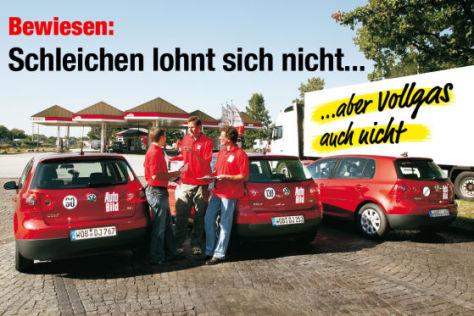 Spritspar-Fahrt