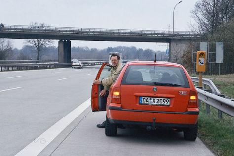 Sicherheit bei Autopannen