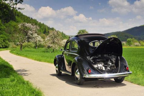 Käfer mit Dieselmotor