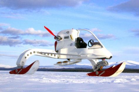 Lotus CIV Concept Ice Vehicle