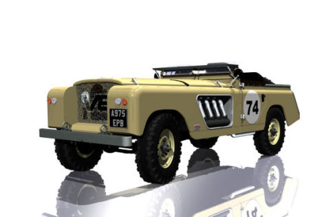 Land Rover Projekt Longnose