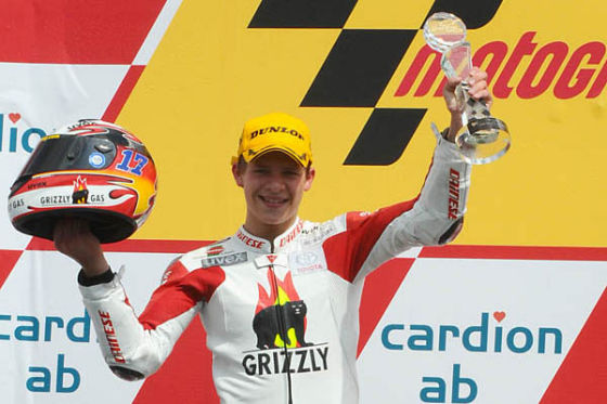 Motorrad-WM 2008, Brünn, 17. 8. 2008, Erster Sieg für Stefan Bradl