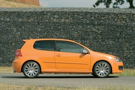 "VW Golf ""orange speed"""