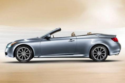 """""""Inspiriert vom Wind"""": Infiniti zeigt im November das Cabriolet G37 Convertible."""