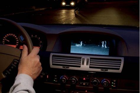 Nachtsicht-Assistent im BMW 7er