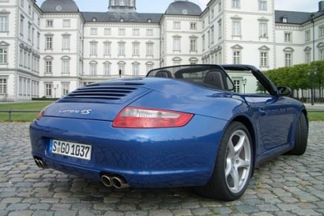 Fahrbericht Porsche 911 Carrera 4S Cabrio