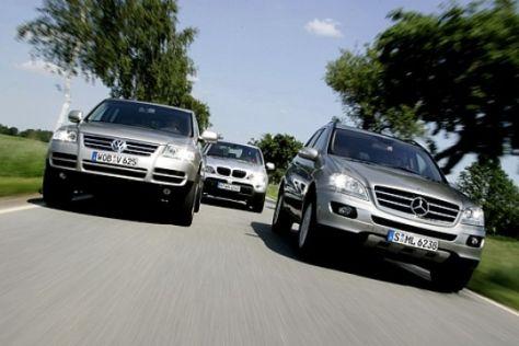 Drei Oberklasse-SUV im Vergleich