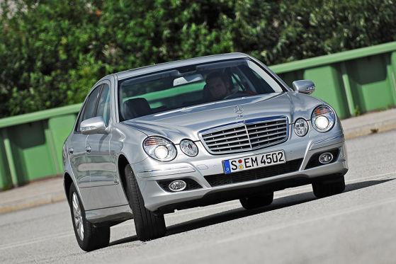Der Mercedes E320 mit sauberem Bluetec-Diesel wird mit 900 US-Dollar gefördert.
