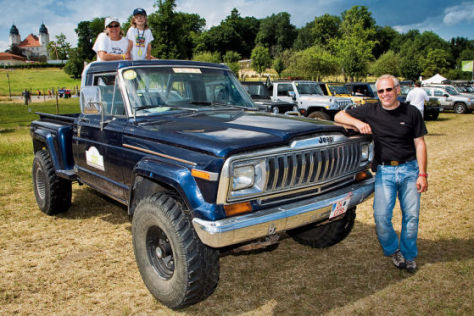 Jeep-Camp in Mecklenburg