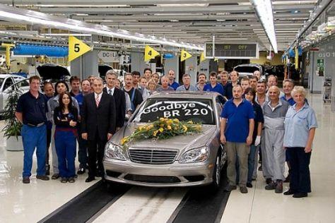 Produktionsende Mercedes-Benz S-Klasse