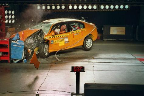 Crashtest Renault Laguna