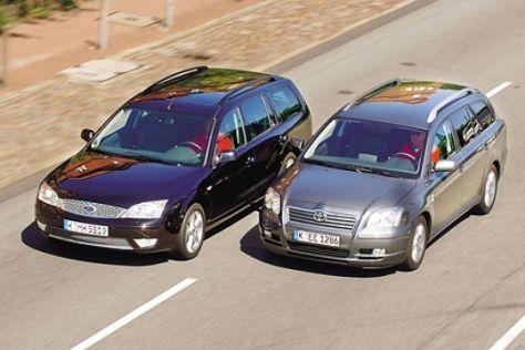 Avensis Combi gegen Mondeo Turnier
