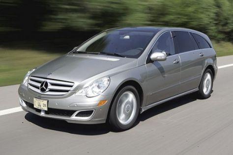 Fahrbericht Mercedes-Benz R 350