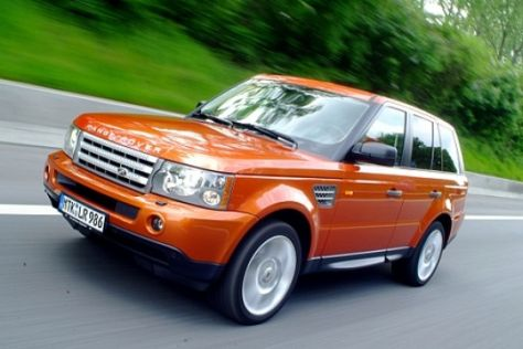 Test Range Rover Sport Supercharged