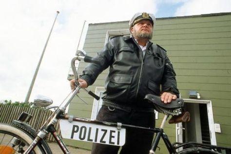 Polizist auf Helgoland