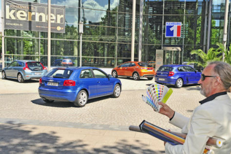 Volvo C30 Audi A3 Honda Civic 1er BMW 118d