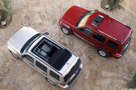 Jeep Cherokee Dach