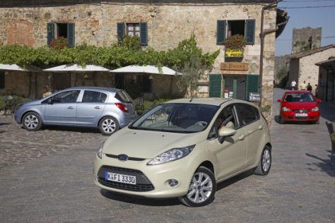 VW Polo 1.9 TDI gegen Opel Corsa 1.3 CDTI gegen Ford Fiesta 1.6  TDCI