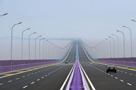 Hangzhou Bay Brücke