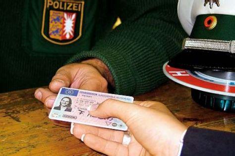 Führerschein Polizei