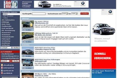 Breitbandinhalte auf autobild.de