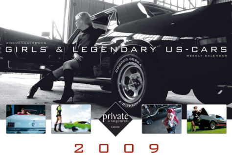 Girls & Legendary US-Cars 2009