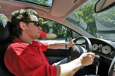 Fahrer mit Sonnenbrille (Boris Pieritz)